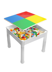 Little Story 4 in1 Activity and Block Table with 350 Blocks, Extra Large, Ages 3+