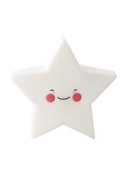 Eazy Kids Star Shape Lamp Light, White