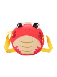 Nohoo Ocean Sling Bag for Kids, Crab, Red