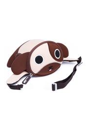 Nohoo Jungle Waist Bag for Kids, Dog, Brown