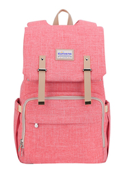 Sunveno Travel Diaper Backpack Bag, XL, Orange