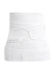Sunveno Breathable Postpartum Abdominal Belt, White, X-Large
