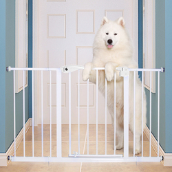 Baby Safe Safety Gate Extension, 30cm, White