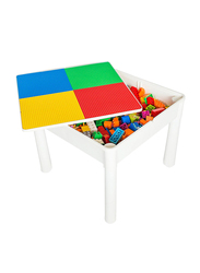 Little Story 4 in1 Activity and Block Table with 50 Blocks, Large, Ages 3+