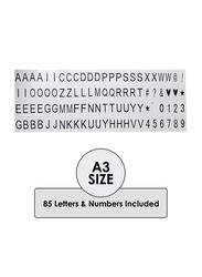 Eazy Kids Letter Light Box, A3, White