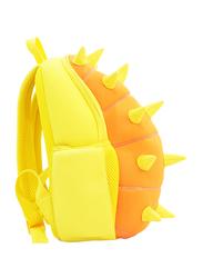 Nohoo Jungle Backpack Bag for Boys, Spiky Dinosaur, Orange/Yellow