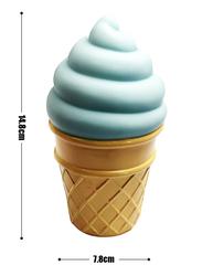 Eazy Kids Ice Cream Shape Lamp Light, Blue