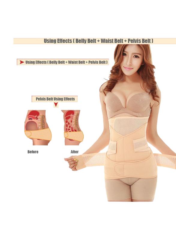 Sunveno 3-in-1 Adjustable Maternity Belt, Nude, XXXL