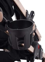 Teknum 3-in-1 Pram Stroller, Wine