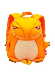 Nohoo Jungle Backpack Bag for Kids, T-Rex, Orange