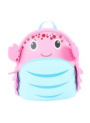Nohoo Ocean Backpack Bag for Girls, Crab, Pink