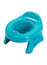 Eazy Kids Travel Portable Potty Trainer Seat for Baby, Blue