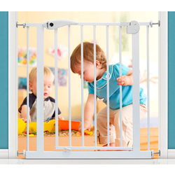 Baby Safe Safety Gate Extension, 45cm, White