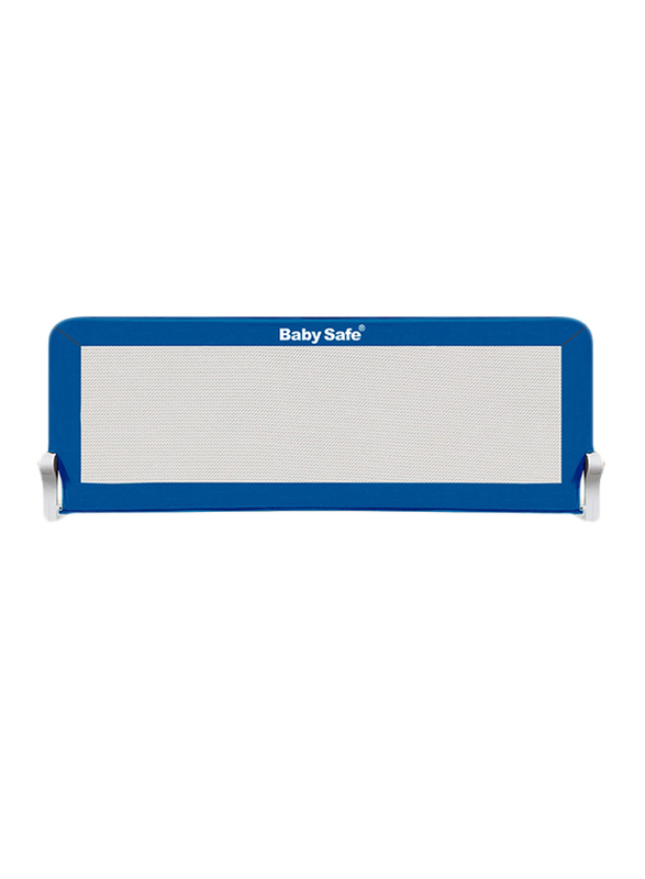 Baby Safe Safety Bed Rail, 120x42 cm, Blue