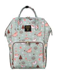 Sunveno Diaper Backpack Bag, Dream Sky, Green