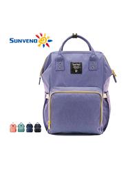 Sunveno Diaper Backpack Bag, Blue Purple