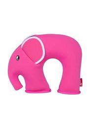 Nohoo Jungle Travel Kids Pillow, Elephant, Pink