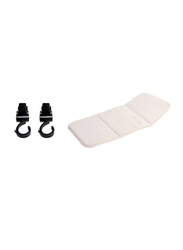 Sunveno Rotating Stroller Hook and Diaper Changing Pad, Black/White