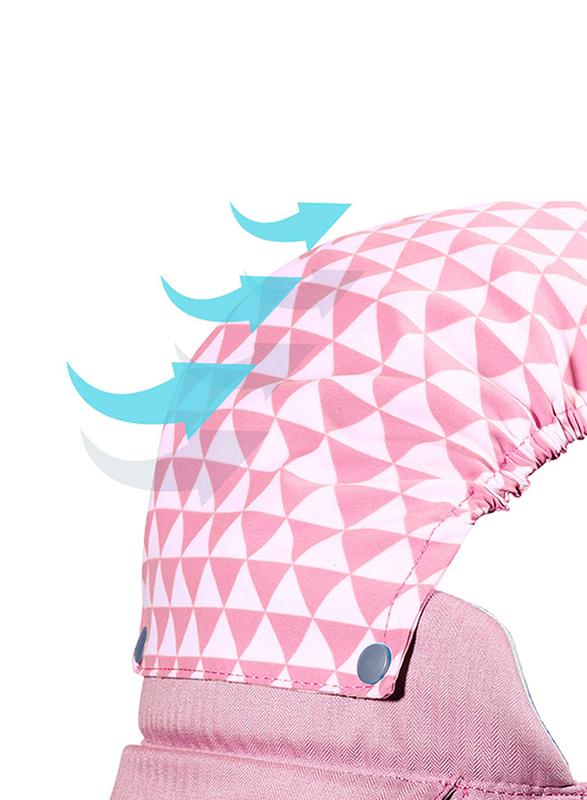 Sunveno Kangaroo Style Ergonomic Baby Carrier, Pink