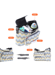 Teknum Travel Lite Stroller, SLD with Sunveno Baby Stroller Organizer/Bag, Dark Grey