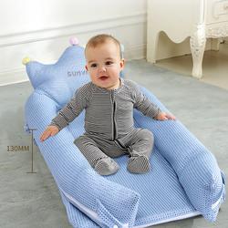 Sunveno All Season Royal Baby Bed, Blue