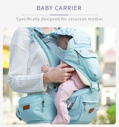Sunveno Kangaroo Style Ergonomic Baby Carrier, Green