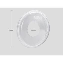 Sunveno Pack of 2 BPA-Free Soft Nipple Shell, 20ml, Clear