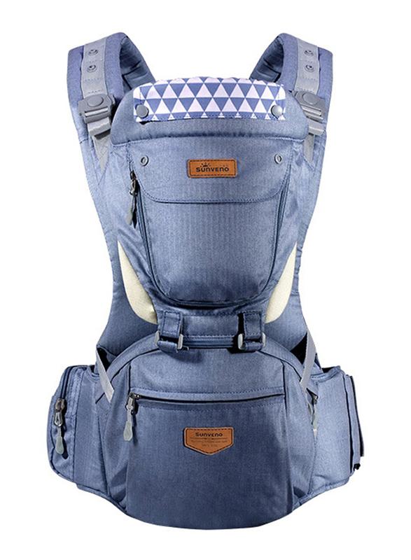 Sunveno Kangaroo Style Ergonomic Baby Carrier, Blue