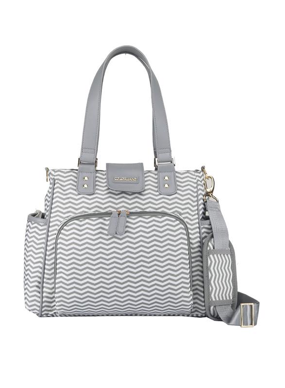 Little Story Jane Diaper Bag, Grey