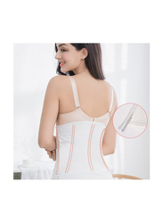 Sunveno Breathable Postpartum Abdominal Belt, White, Medium
