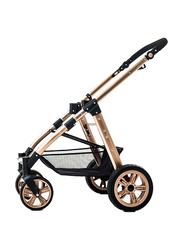 Teknum 3-in-1 Pram Stroller, Khaki