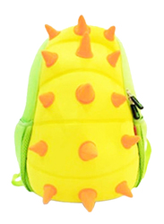 Nohoo Jungle Backpack Bag for Boys, Spiky Dinosaur, Yellow/Green